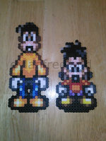 Goof Troop Perlers by dylrocks95