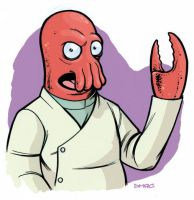 Doctor John Zoidberg by D-MAC