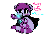 Happy Birthday Piper! by spottedtail223