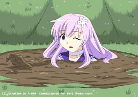 Nepgear in Quicksand 04 by A-020