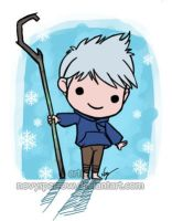 Chibi Frost by Nuvvola