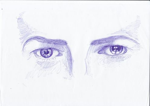 Eyes of the Bowie by DooAddams