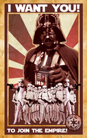 Darth Vader Propaganda by daisymartinez