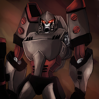 TFA MEGATRONNN by Hackney