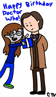 Happy Birthday Doctor Who by MelloChello195