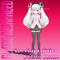 MMD GLaDOS RECHARGED Special Edition Petite Chibi by Trackdancer