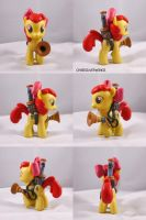 Apple Bloom Bug Buster by ChibiSilverWings