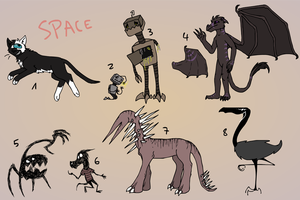 Adopts (Closed) by TheGhoulAvenue