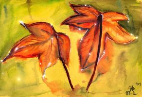 Autumn Leaves -SOLD- by Miruna-Lavinia
