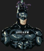 Arkham man by hugohugo