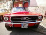 Red Ford Mustang 1 by Mayorati