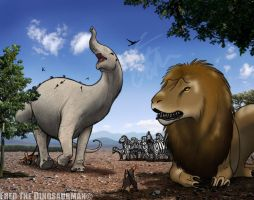 A Very African Jurassic America | Familiar Beasts by FredtheDinosaurman