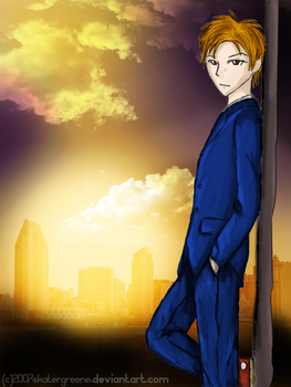 The Tenth Doctor by skatergreene
