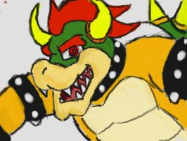Art Academy - Bowser by pocket-arsenal