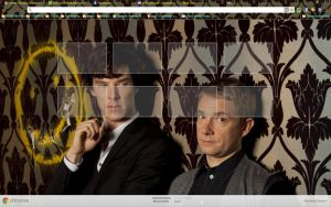 Sherlock series 2 Chrome theme by blessyo4
