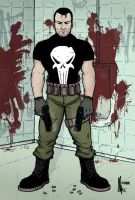 The Punisher by mikefeehan