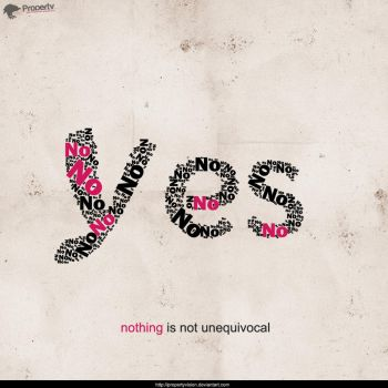 yes- nothing is not unequivoca by PropertyVision
