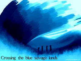 Crossing the blue savage lands by prime512