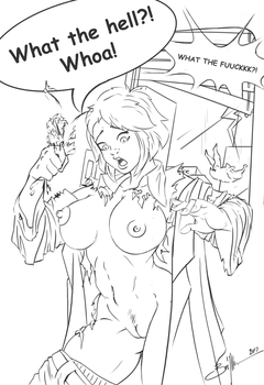 Power Girl - NSFW Commission 03 by RebelRacoons