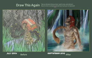 Draw this again Contest entry by Aashur