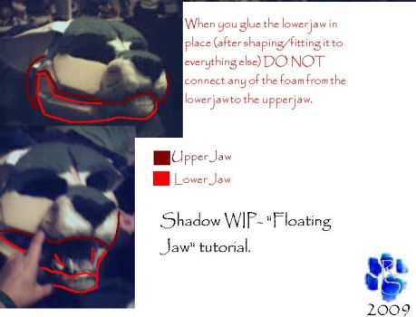 Fursuit 'Floating Jaw' by Sharpe19