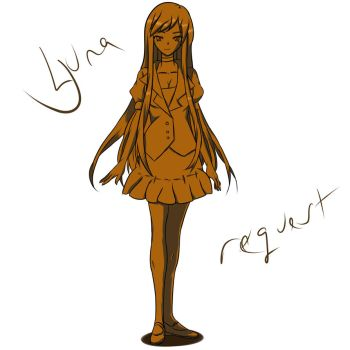 Yuna Doushi [Quick Shaded Sketch Request] by Naruto-Kun712