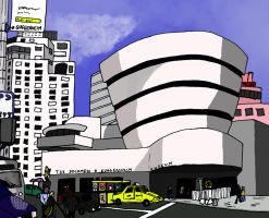 NYC - the Guggenheim Museum by sharkb0y