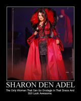 Sharon Den Adel... Thing by OurHandOfSorrow
