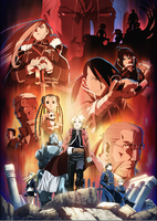FMA the main cast by thefinalexpert