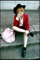 Sanji - A Smoke Break by nannn