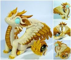 Light dragon - SOLD by CuteDragonsAndMore
