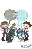 Marvel Star Wars #13 cover by katiecandraw