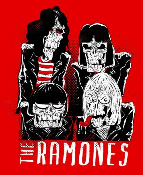 Ramones Zombies by RV5T3M