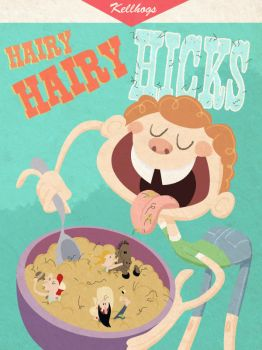 Cereal spoof by nut-meggers