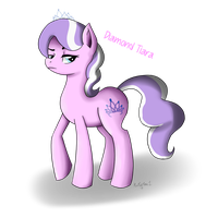 diamond tiara by MissRedMoon1
