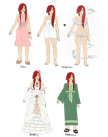 More Outfits for Akina by anniberri