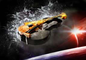 Space Violin by D-M-O