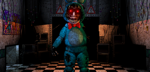 FNAF2 - Withered/old Toy bonnie + Video by Christian2099