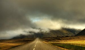 Iceland - in the fog by PatiMakowska
