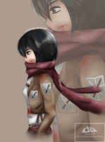Mikasa by Louiology