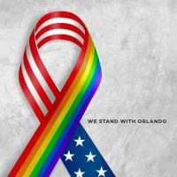 We stand with Orlando by Ameschka