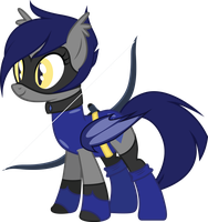 Sapphire, The Crystal Archer by DuskTheBatPack