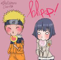 ::NaruHina-Lollipop:: by d-clua
