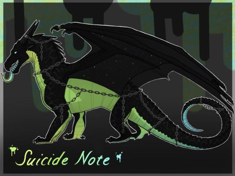 NightWing for Adoption [CLOSED] by Lichenpatch