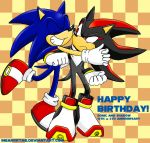 Sonic And Shadow's Birthday by ihearrrtme