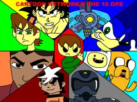 Cartoon Network's The 10 Ops by ian2x4