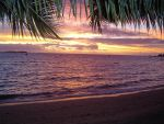 sunset in cancun by AuTuMn-Lee