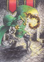 Dr Doom Color by SaviorsSon