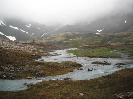 Crow's Pass River 4 by prints-of-stock