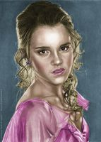 Hermione colored by Scott Zambelli by khinson